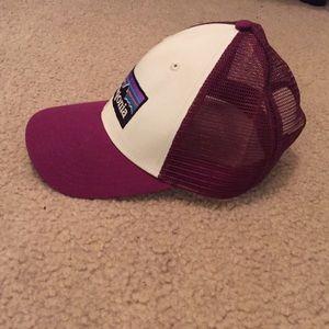 Burgundy Patagonia Trucker Hat